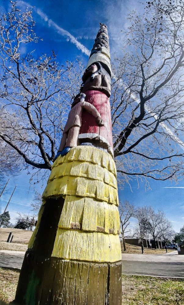 Totem Pole at Mid-America All-Indian Center