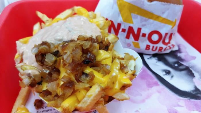 In-N-Out Fries, animal-style