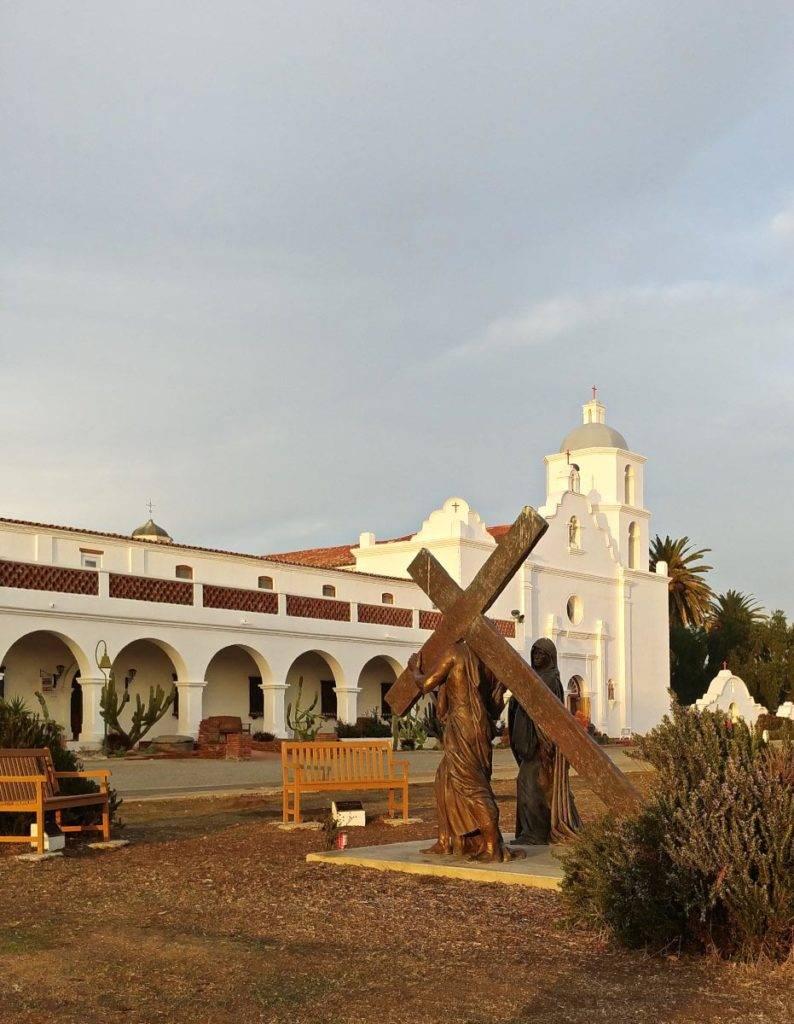 Mission San Luis Rey Museum in Oceanside