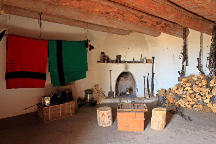 Room at Bent's Old Fort