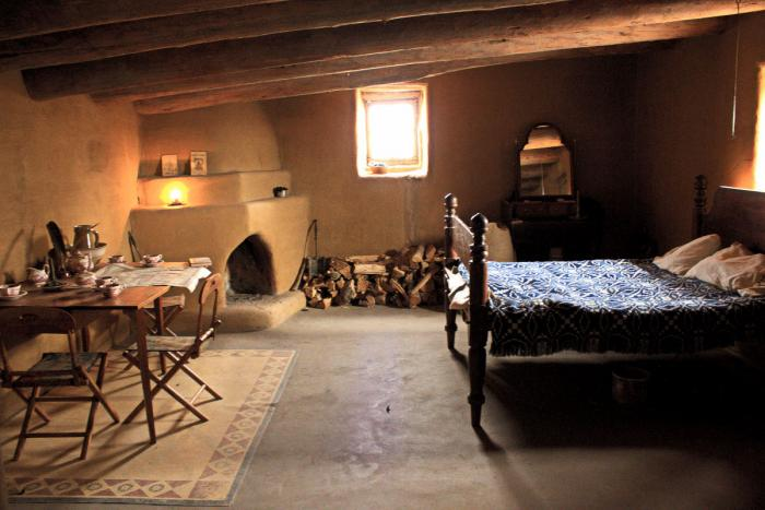 Bedroom at Bent's Old Fort National Historic Site