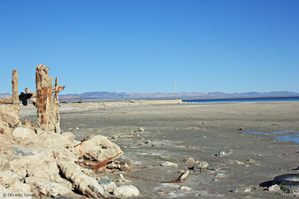 Bombay Beach, California, on the Salton Sea