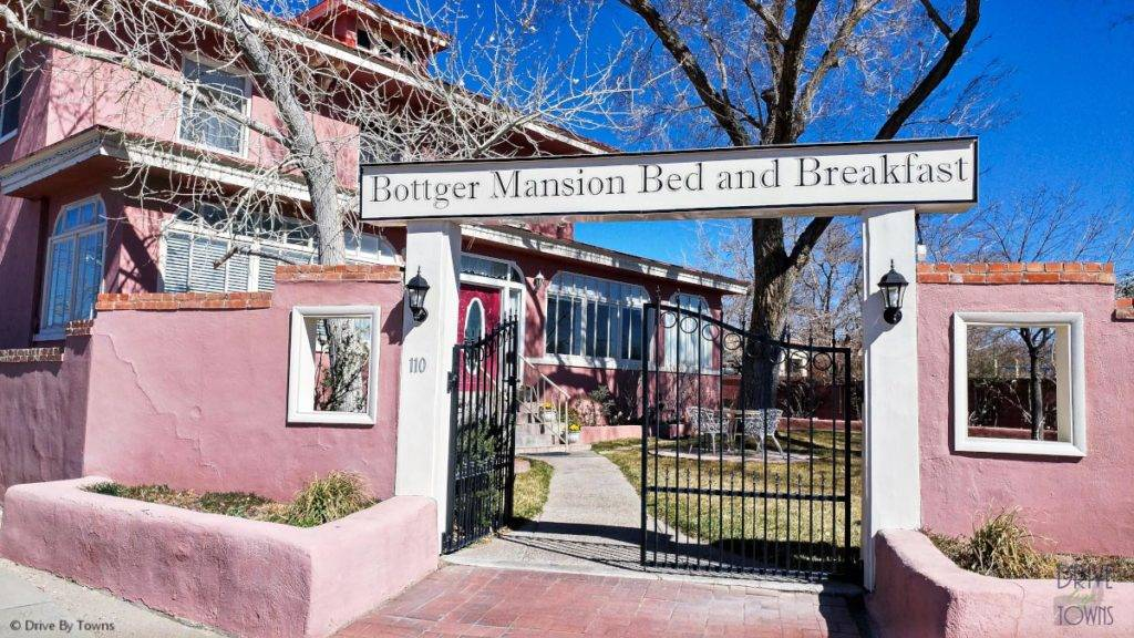Bottger Mansion in Old Town Albuquerque