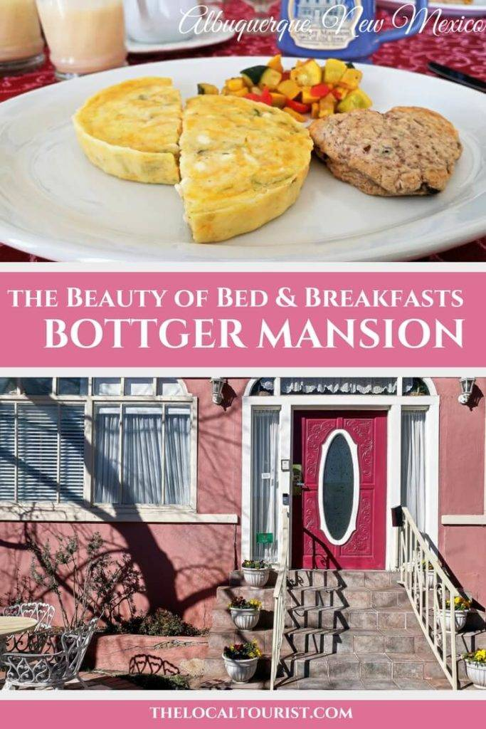 Discover the beauty of bed & breakfasts at Bottger Mansion in Old Town, Albuquerque, New Mexico, on Route 66