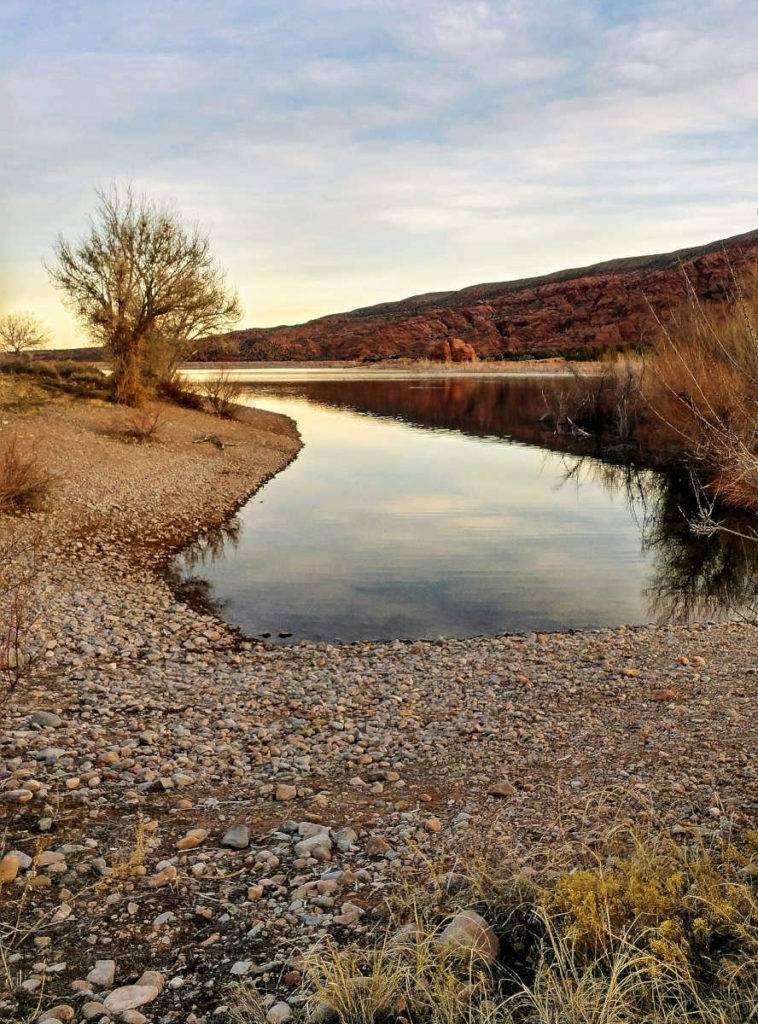 Ken's Lake Campground south of Moab, Utah