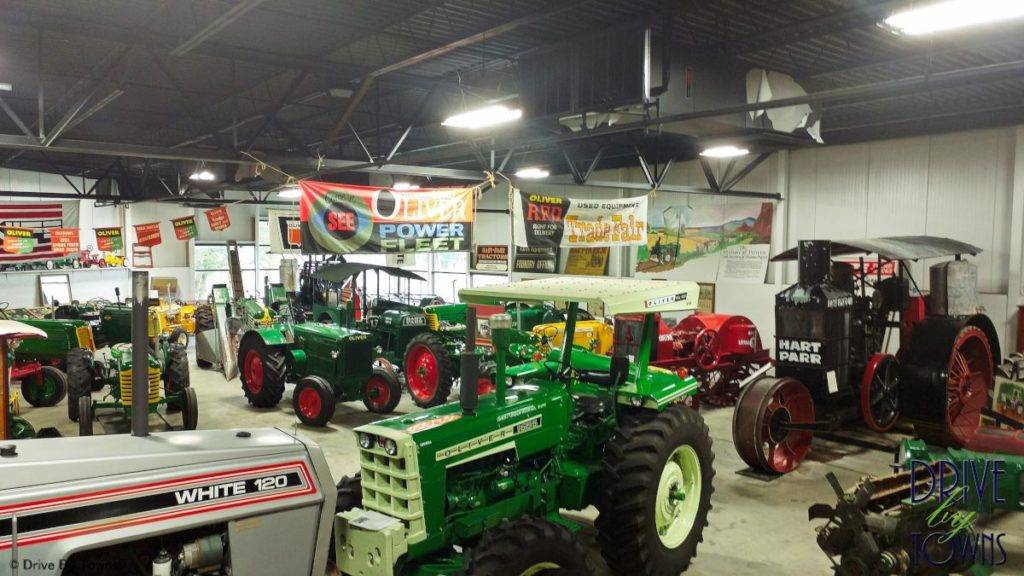 Tractors at Floyd County Historical Museum in Charles City, Iowa