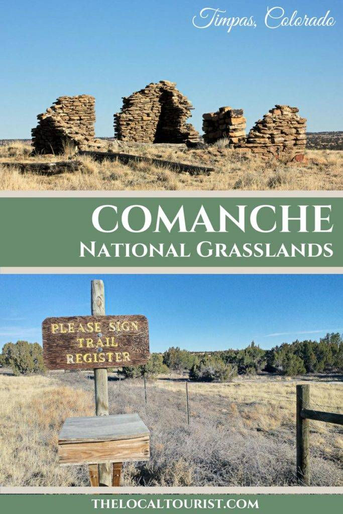 Comanche National Grasslands is located in the southeast corner of Colorado. #USA