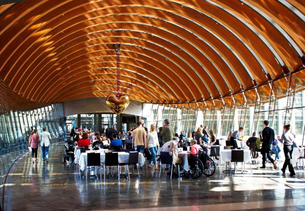 Restaurant at Crystal Bridges Museum of American Art