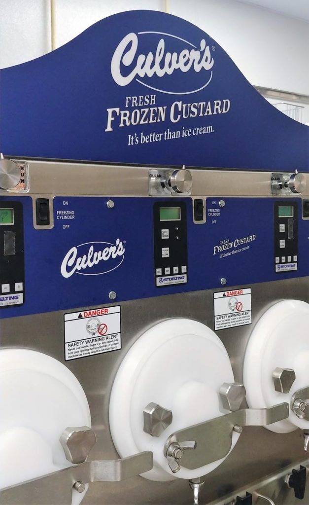 Culver's Frozen Custard machine