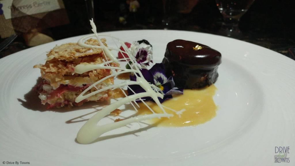 Dessert at Eagle Ridge Resort