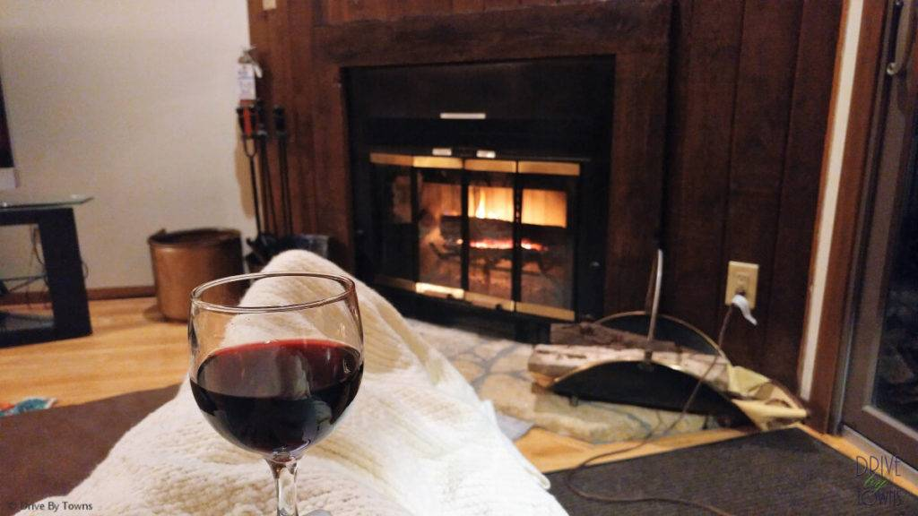 Wine and fire at Eagle Ridge Resort & Spa