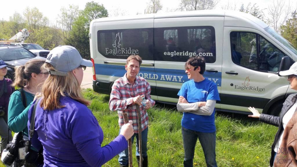 Morel media hunt at Eagle Ridge