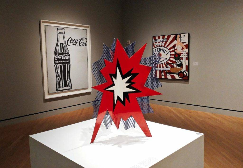 Roy Lichtenstein and Andy Warhol at Crystal Bridges Museum of American Art