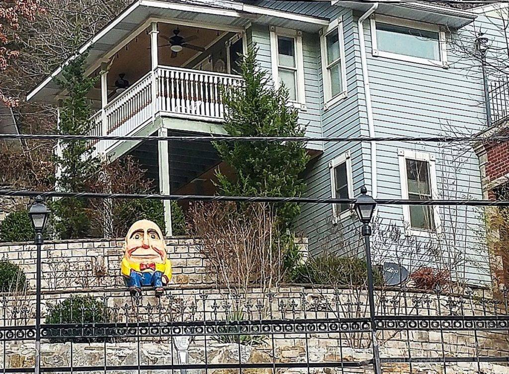 Humpty Dumpty in Eureka Springs