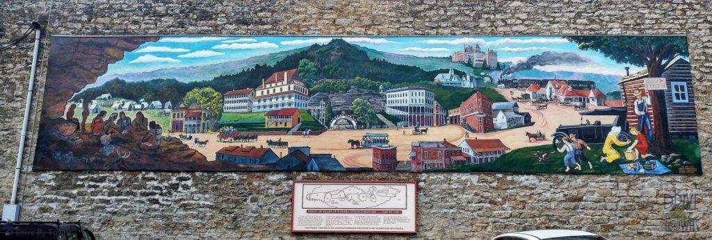 Eureka Springs Centennial Mural