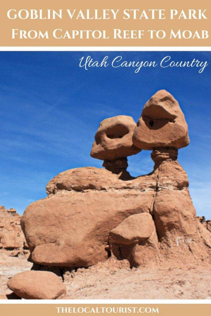 Goblin Valley State Park in Utah's Canyon Country #USA