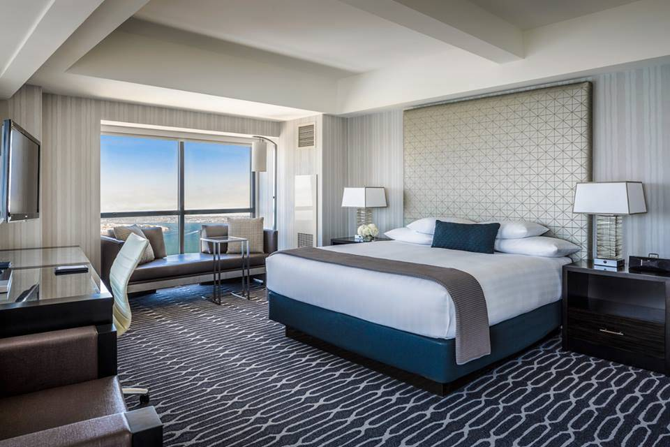 Manchester Grand Hyatt Room, luxury hotel in San Diego California