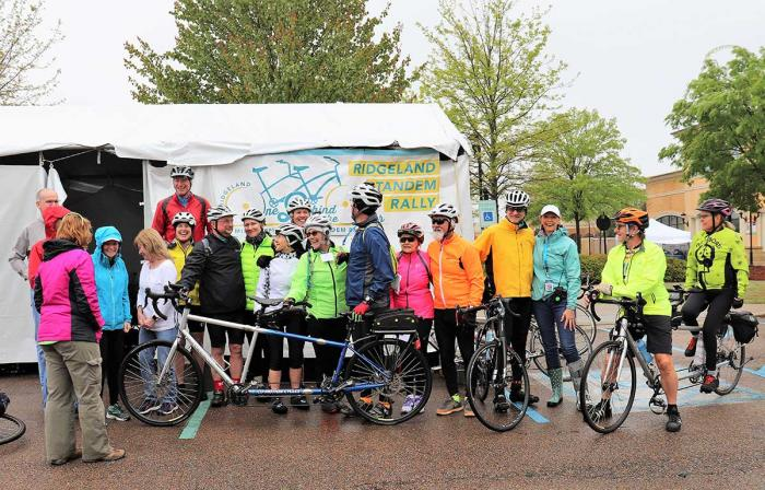 Ridgeland Tandem Rally Group Shot