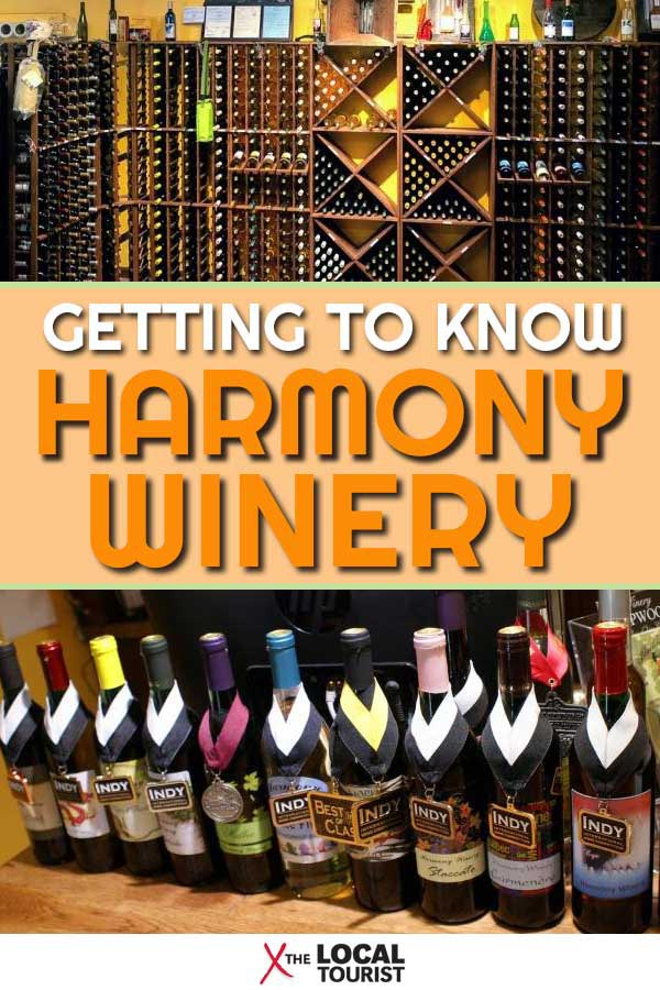 Get to know the story behind Harmony Winery, a surprising find in a Fishers, Indiana strip mall