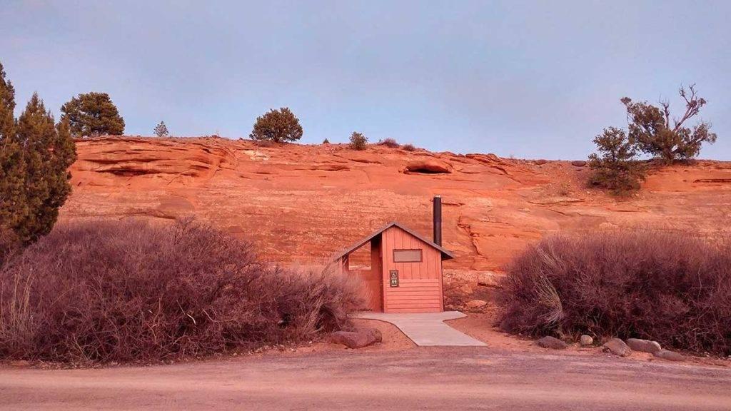 Deer Creek Campground Pit Toilet