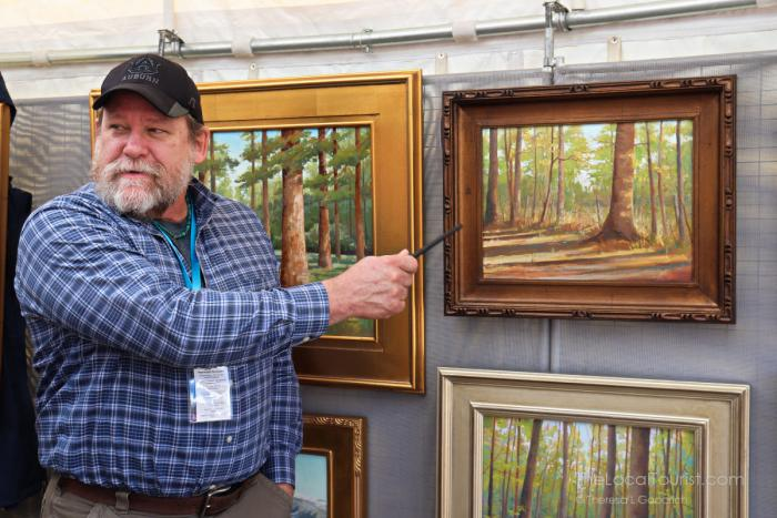 Tim Vaught at Ridgeland Fine Arts Festival