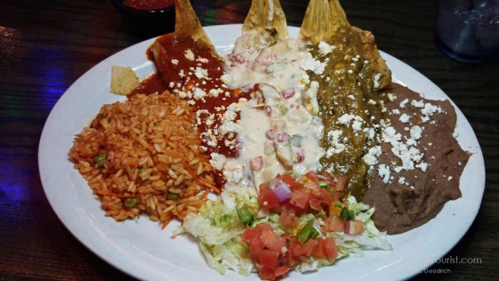 Trio of Tamales at Sombra Mexican Kitchen