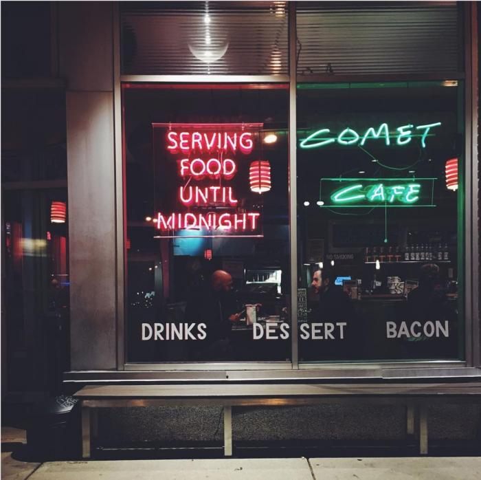 Comet Cafe in Milwaukee, photo by Em's on the Road