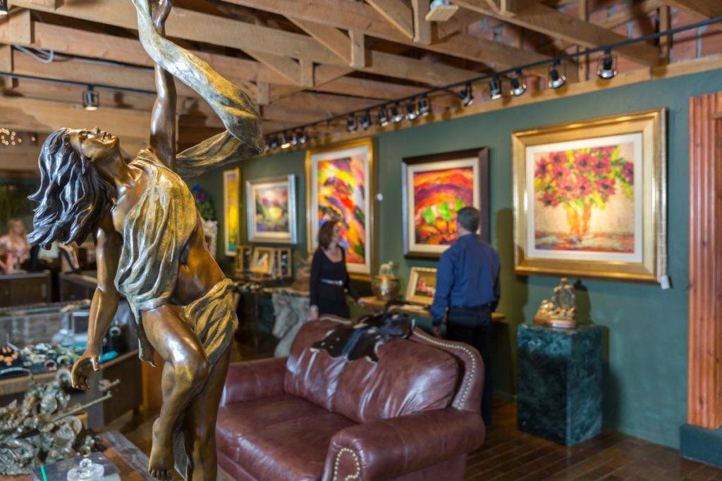 Art gallery in Ruidoso, New Mexico