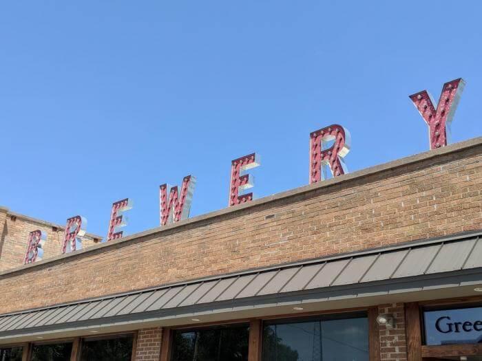 Greenbush Brewery in Sawyer Michigan