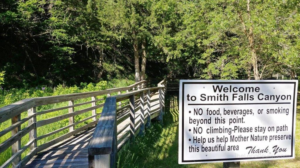 Smith Falls Canyon Trail