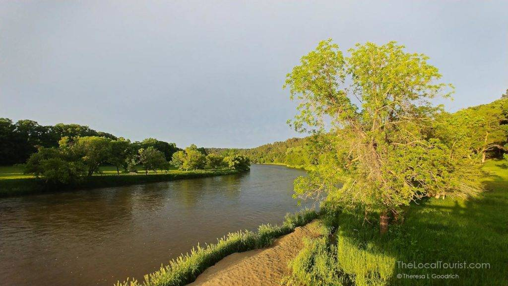 Golden Hour on the Niobrara River at Smith Falls State Park