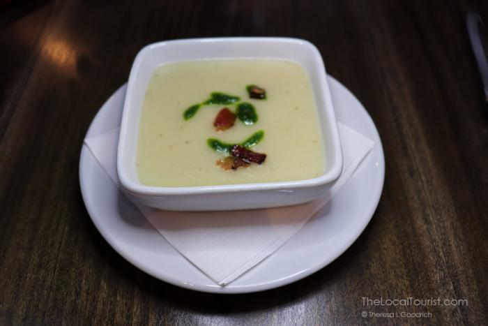 potato and ramp soup