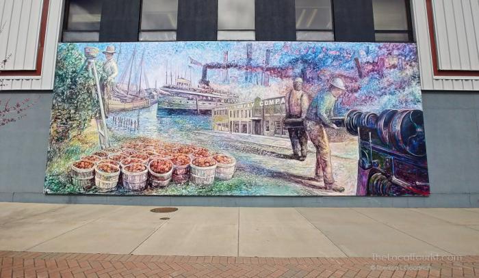 Mural in Benton Harbor, Michigan