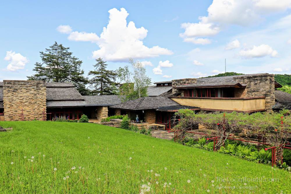 Taliesin in Spring Green, Wisconsin; a UNESCO World Heritage Site