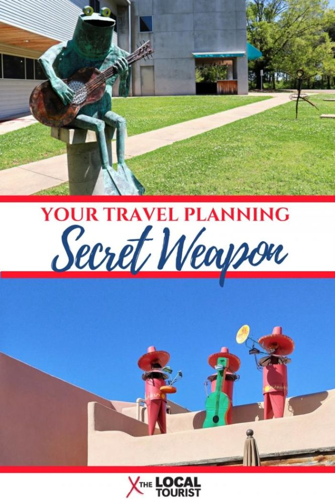 Travel Planning Secret Weapon - The Visitors Bureau. These free resources make travel planning a breeze, since they're the experts on local destinations