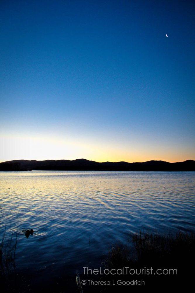 Sunrise in Wichita Mountains Wildlife Refuge