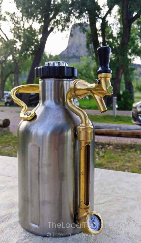 Growlerwerks uKeg at Devils Tower