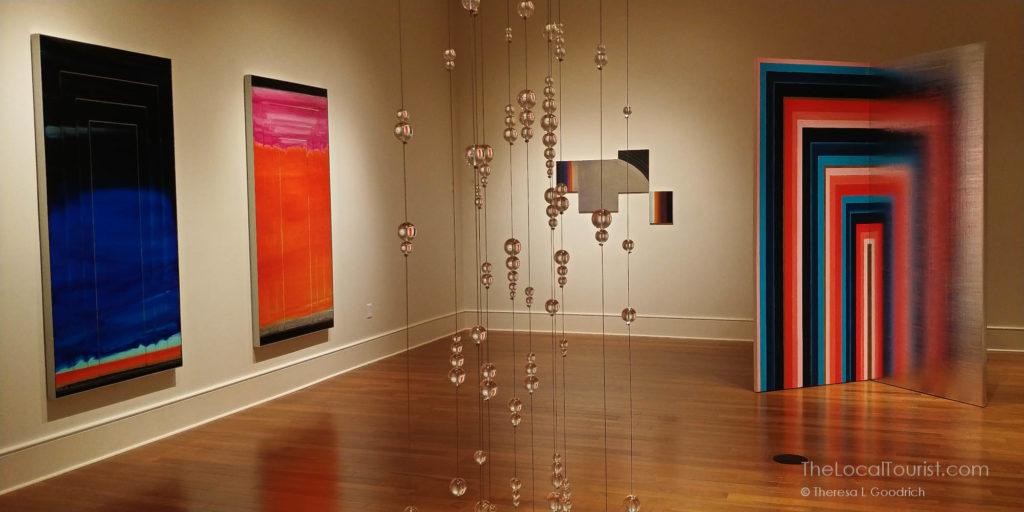 Lisa Beck's exhibit in The Gallery